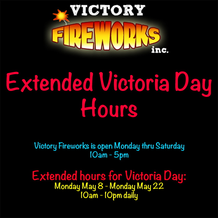 Victoria Day Hours
