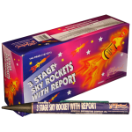 Sky Rocket 3-Stage (Brick of 144)